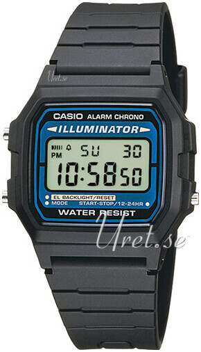 Casio Casio Collection Herrklocka F-105W-1AWYEF Resinplast 35.4x39 mm - Casio