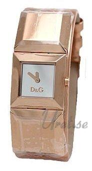 Dolce & Gabbana D&G Dance Damklocka DW0271 Silverfärgad/Läder - Dolce & Gabbana D&G