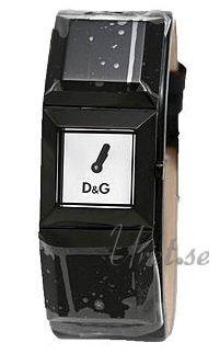 Dolce & Gabbana D&G Dance Damklocka DW0274 Silverfärgad/Läder - Dolce & Gabbana D&G