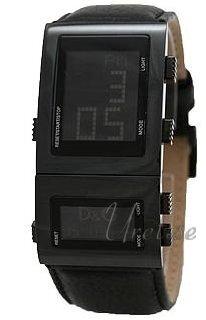 Dolce & Gabbana D&G Herrklocka DW0360 LCD/Läder 38x30 mm - Dolce & Gabbana D&G