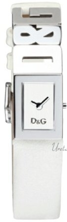 Dolce & Gabbana D&G Damklocka DW0508 Silverfärgad/Läder - Dolce & Gabbana D&G