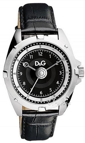 Dolce & Gabbana D&G Herrklocka DW0606 Svart/Läder Ø44 mm - Dolce & Gabbana D&G