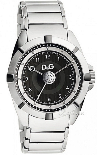 Dolce & Gabbana D&G Dance Herrklocka DW0608 Svart/Stål Ø44 mm - Dolce & Gabbana D&G