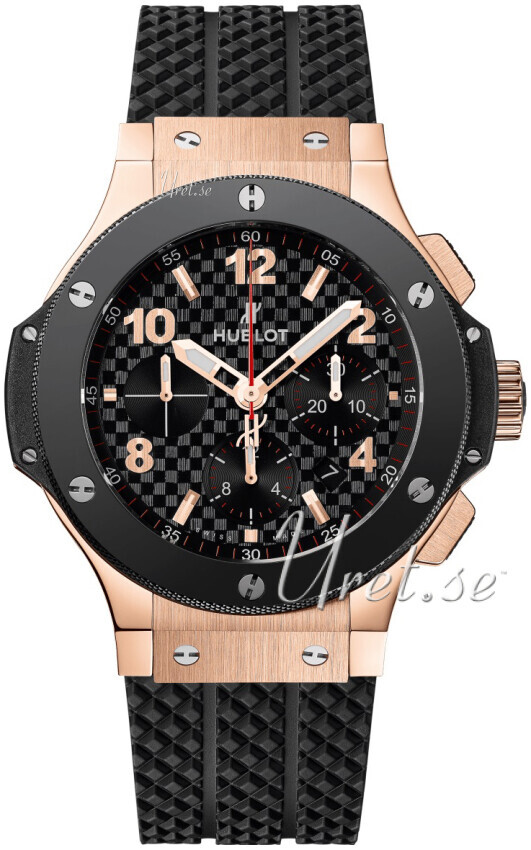 Hublot Big Bang Evolution Herrklocka 301.PB.131.RX Svart/Gummi Ø44.5 mm - Hublot