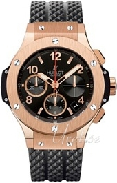 Hublot Big Bang 41 mm Herrklocka 341.PX.130.RX Svart/Gummi Ø41 mm - Hublot