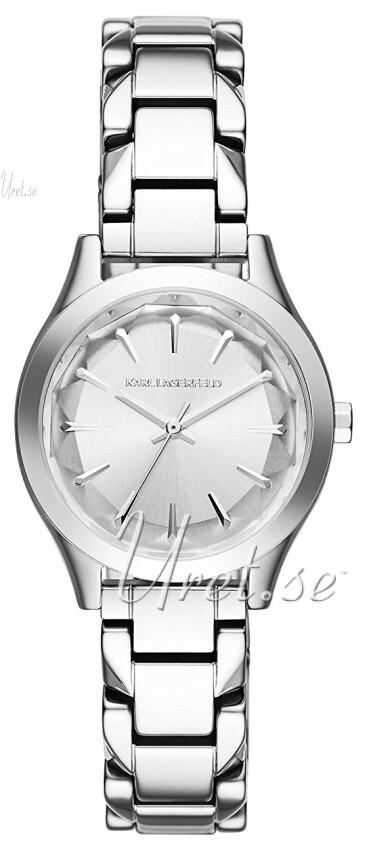 Karl Lagerfeld Belleville Damklocka KL1613 Silverfärgad/Stål Ø31 mm - Karl Lagerfeld