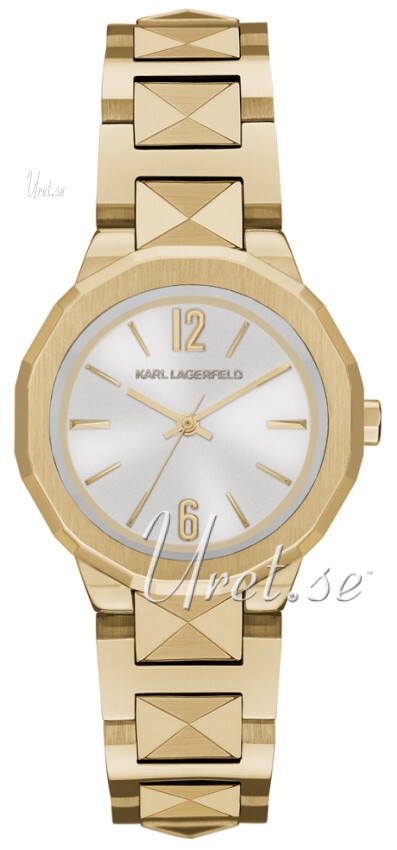 Karl Lagerfeld Joleigh Damklocka KL3403 Silverfärgad/Gulguldtonat stål - Karl Lagerfeld