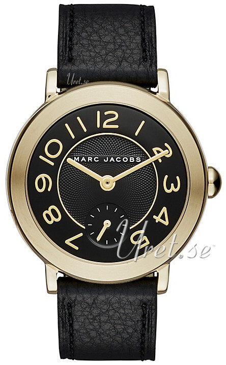 Marc by Marc Jacobs 99999 Damklocka MJ1471 Svart/Läder Ø36 mm - Marc by Marc Jacobs