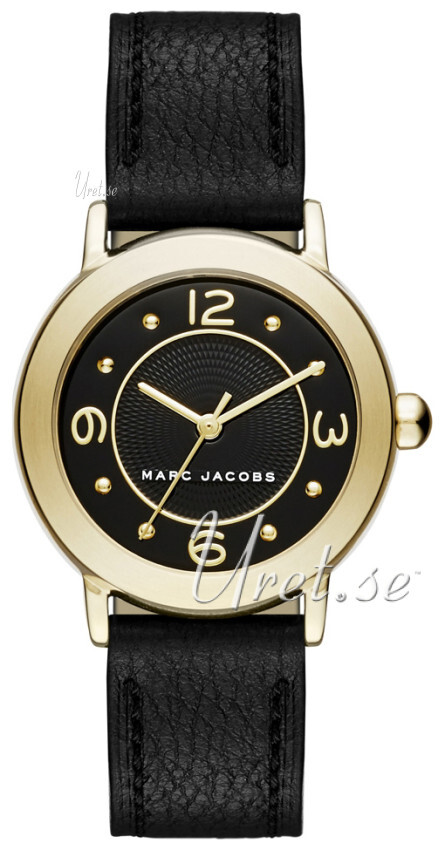 Marc by Marc Jacobs 99999 Damklocka MJ1475 Svart/Läder Ø28 mm - Marc by Marc Jacobs