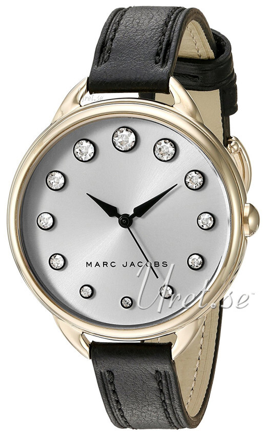 Marc by Marc Jacobs 99999 Damklocka MJ1479 Silverfärgad/Läder Ø36 mm - Marc by Marc Jacobs