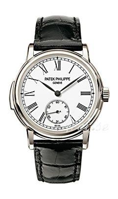Patek Philippe Grand Complications Herrklocka 5078P/001 Vit/Läder Ø38 mm - Patek Philippe
