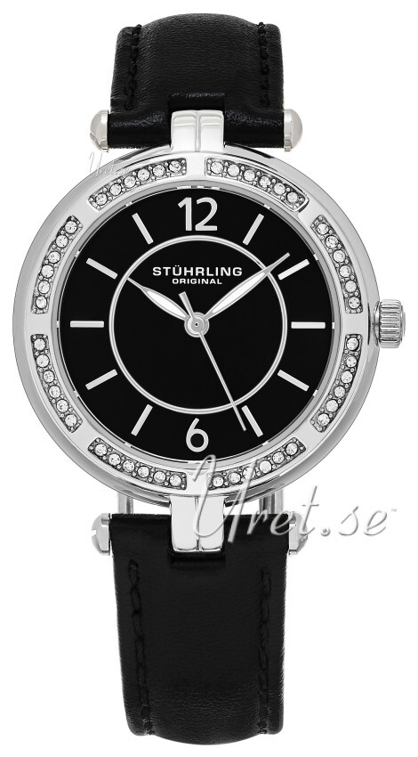 Stührling Original Vogue Serena Damklocka 550.02 Svart/Läder Ø33 mm - Stührling Original