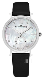 Alexander Monarch Vit/Satin Ø34 mm A201-01