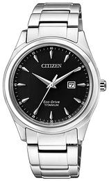 Citizen Svart/Titan Ø34 mm EW2470-87E