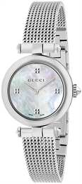 Gucci Diamantissima Vit/Stål Ø27 mm YA141504