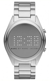 Marc by Marc Jacobs Digital Silverfärgad/Aluminium Ø42 mm MBM3528