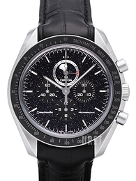 Omega Speedmaster Moonwatch Professional Moonphase 44.25mm Svart/Läder Ø44.25 mm 311.33.44.32.01.001