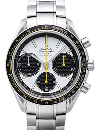 Omega Speedmaster Racing Co-Axial Chronograph 40mm Vit/Stål Ø40 mm 326.30.40.50.04.001