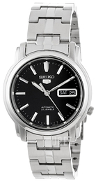Seiko Dress Svart/Stål Ø38 mm SNKK71