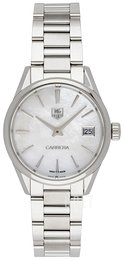 TAG Heuer Carrera Lady Quartz Vit/Stål Ø32 mm WAR1311.BA0778