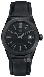 TAG Heuer Carrera Lady Svart/Gummi Ø36 mm WBG1313.FT6117