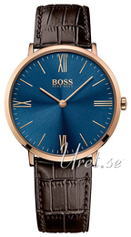 Hugo Boss Jackson Blå/Läder Ø40 mm 1513458