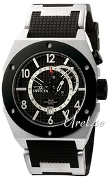 Invicta Forcetion Svart/Gummi Ø49 mm 5837