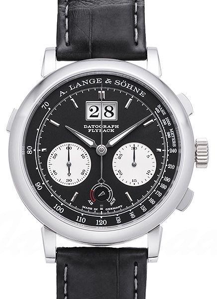 A. Lange & Söhne Saxonia Herrklocka 405.035 Svart/Läder Ø41 mm - A. Lange & Söhne
