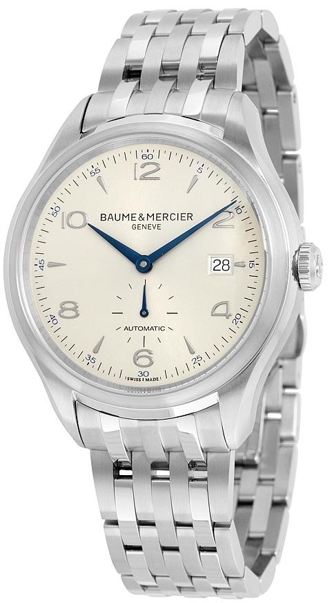 Baume & Mercier CLIFTON Herrklocka MOA10099 Silverfärgad/Stål Ø41 mm - Baume & Mercier