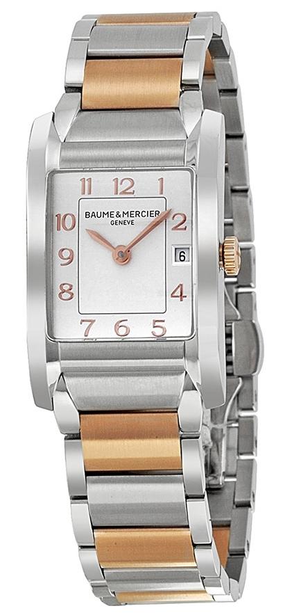 Baume & Mercier HAMPTON Damklocka MOA10108 Silverfärgad/18 karat - Baume & Mercier