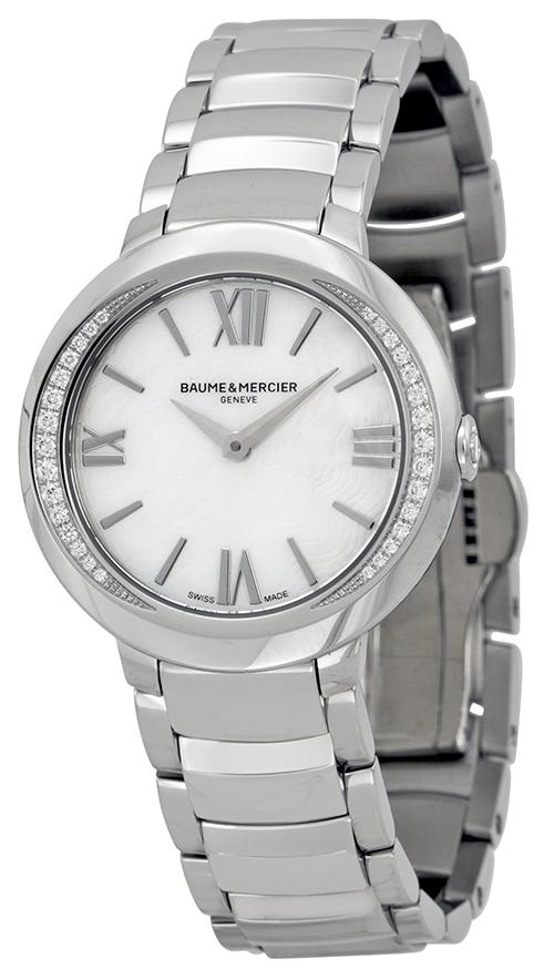 Baume & Mercier PROMESSE Damklocka MOA10160 Silverfärgad/Stål Ø30 mm - Baume & Mercier
