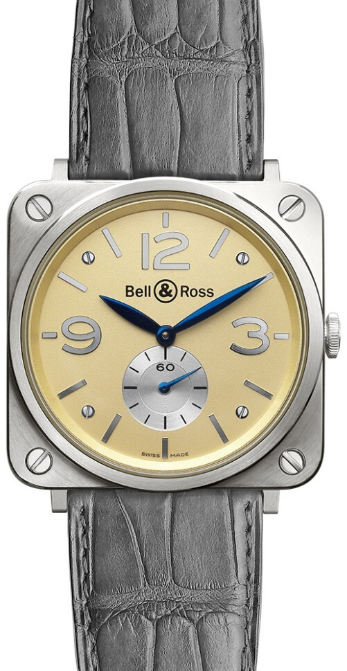 Bell & Ross BR S Mecanique Herrklocka BRS-WHGOLD-IVORY_D - Bell & Ross