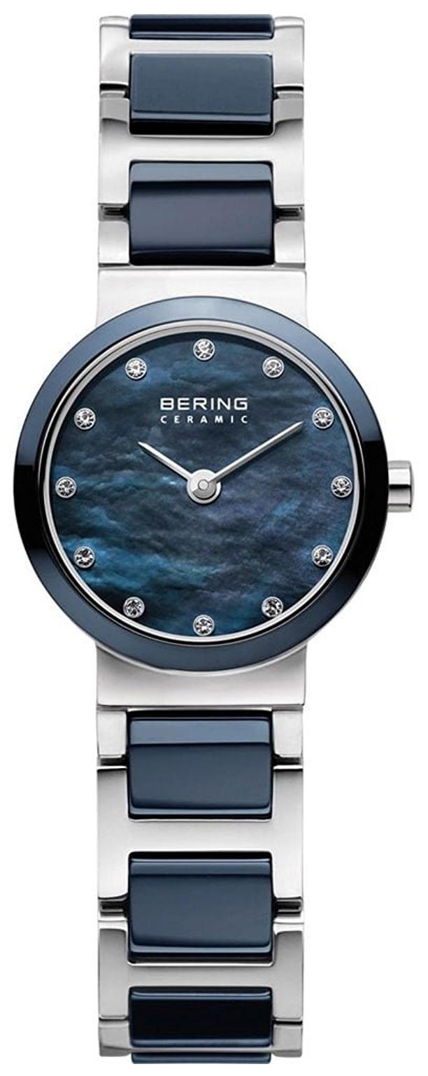 Bering Ceramic Damklocka 10729-787 Blå/Stål Ø29 mm - Bering