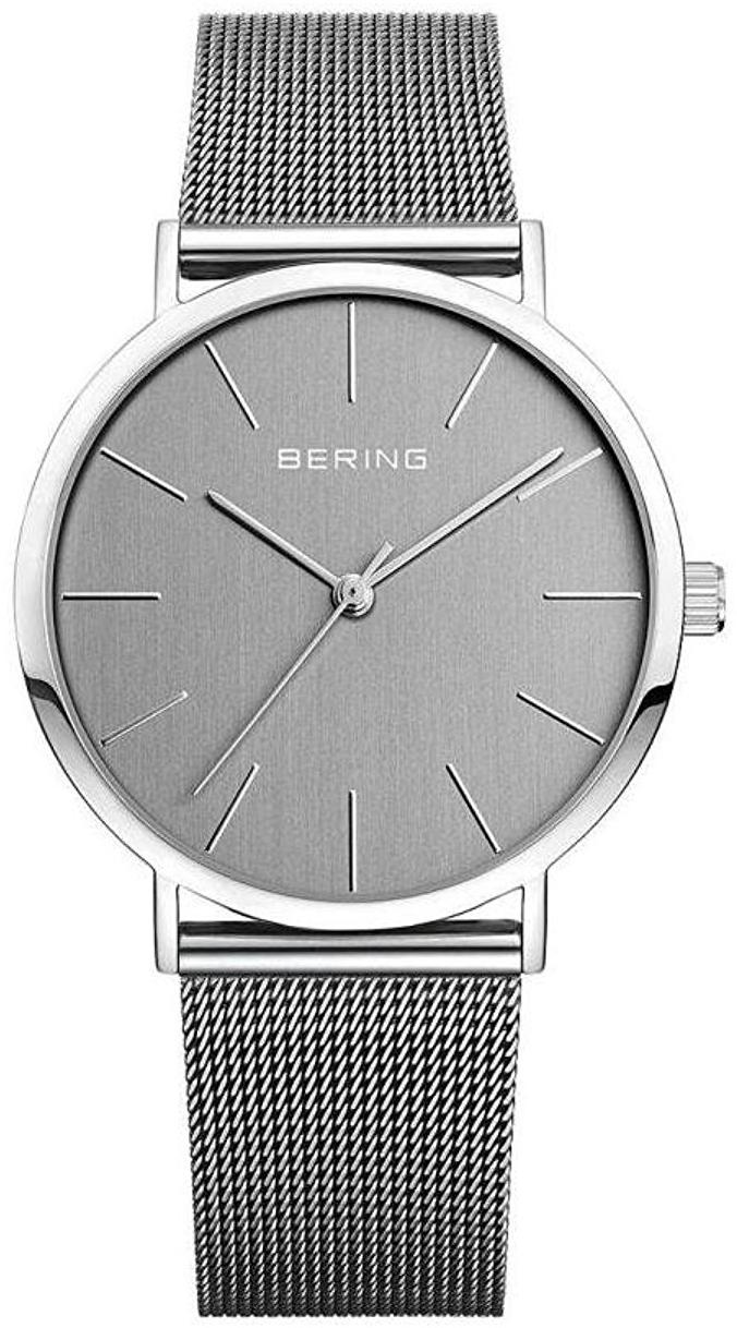 Bering Classic 13436-309 Grå/Stål Ø36 mm - Bering