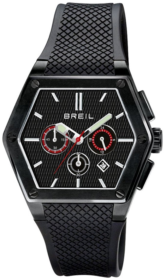 Breil 99999 Herrklocka TW0652 Svart/Gummi - Breil