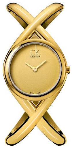 Calvin Klein Classic Damklocka K2L24509 Champagnefärgad/Gulguldtonat - Calvin Klein