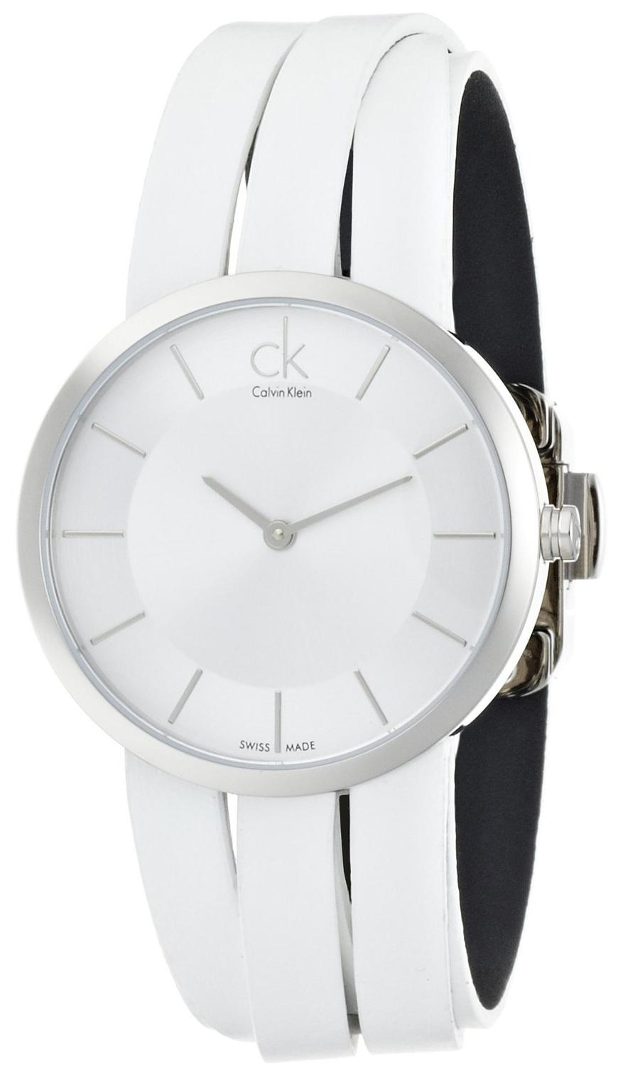 Calvin Klein Classic Damklocka K2R2M1K6 Silverfärgad/Läder Ø32 mm - Calvin Klein