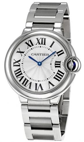 Cartier Ballon Bleu W69011Z4 Silverfärgad/Stål Ø36.6 mm - Cartier