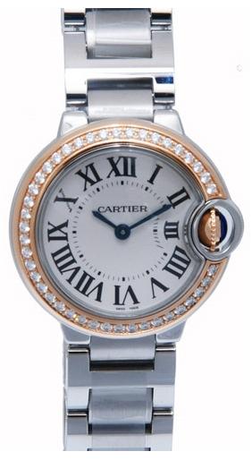 Cartier Ballon Blue Damklocka WE902079 Silverfärgad/Stål Ø28 mm - Cartier