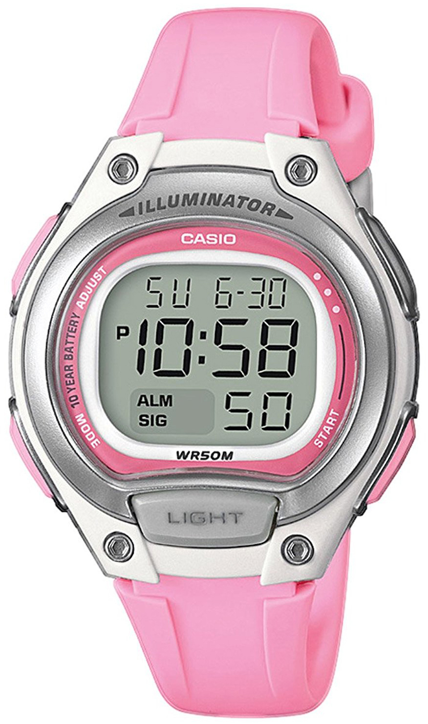 Casio Casio Collection Damklocka LW-203-4AVEF LCD/Resinplast Ø38.1 mm - Casio