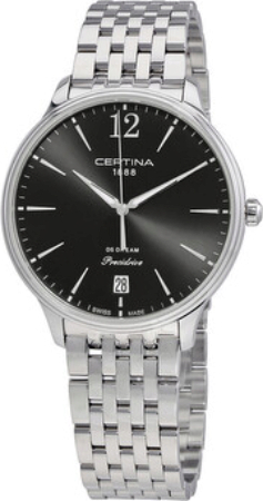 Certina DS Dream Damklocka C021.810.11.057.00 Svart/Stål Ø38 mm - Certina