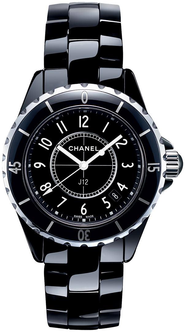 Chanel J12 Damklocka H0682 Svart/Keramik Ø33 mm - Chanel