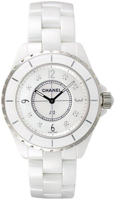 Chanel J12 Damklocka H3214 Vit/Keramik Ø38 mm - Chanel