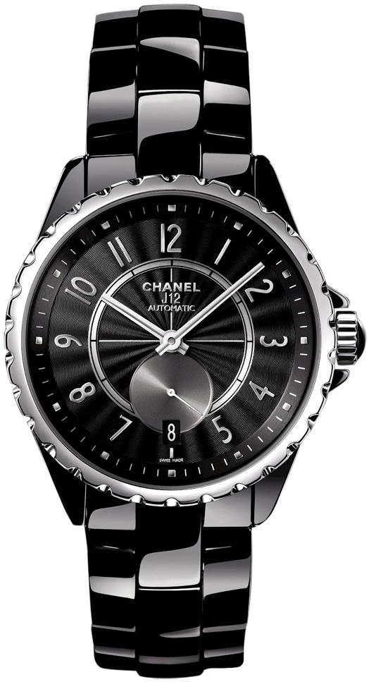 Chanel J12 Damklocka H3836 Svart/Keramik Ø36.5 mm - Chanel