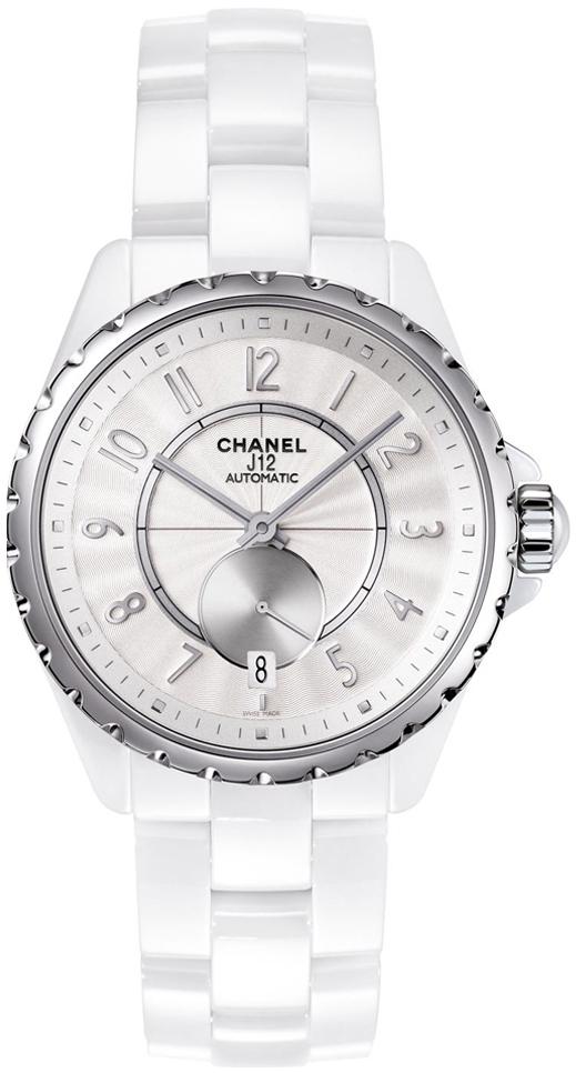 Chanel J12 Damklocka H3837 Vit/Keramik Ø36.5 mm - Chanel