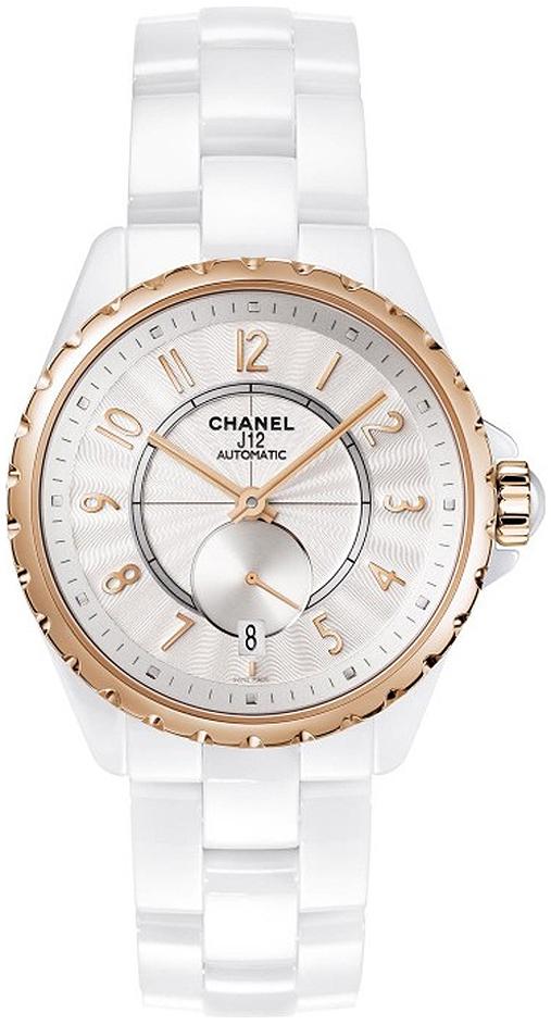 Chanel J12 Damklocka H3839 Vit/Keramik Ø36.5 mm - Chanel