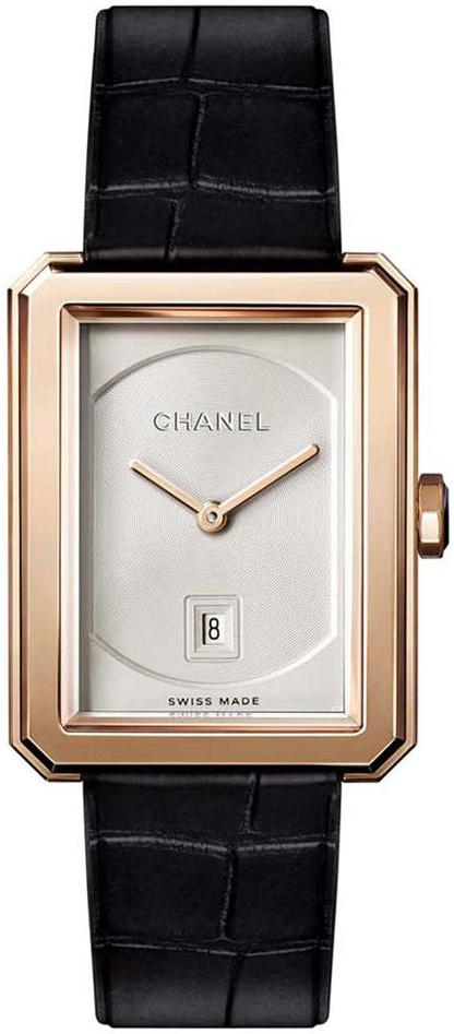 Chanel Premiere Damklocka H4313 Silverfärgad/Läder - Chanel
