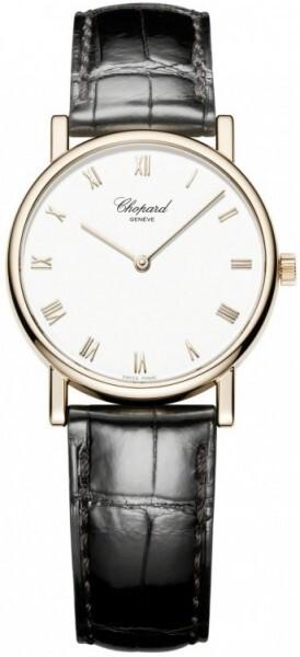 Chopard Classic Herrklocka 163154-5001 Vit/Läder Ø33.6 mm - Chopard