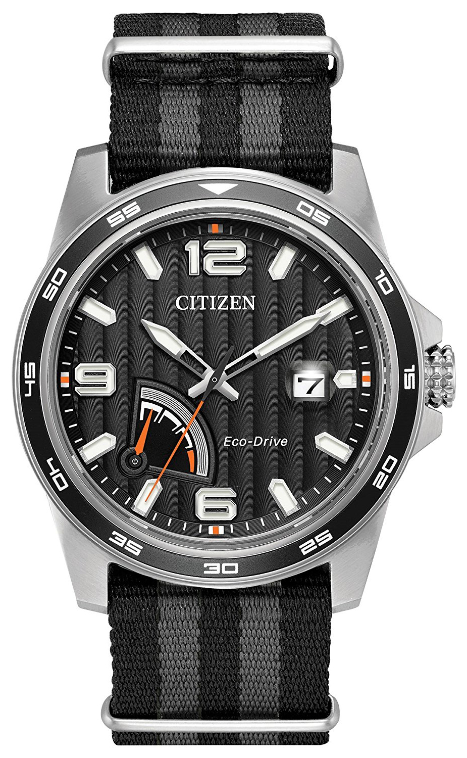 Citizen 99999 Herrklocka AW7030-06E Svart/Stål Ø41 mm - Citizen