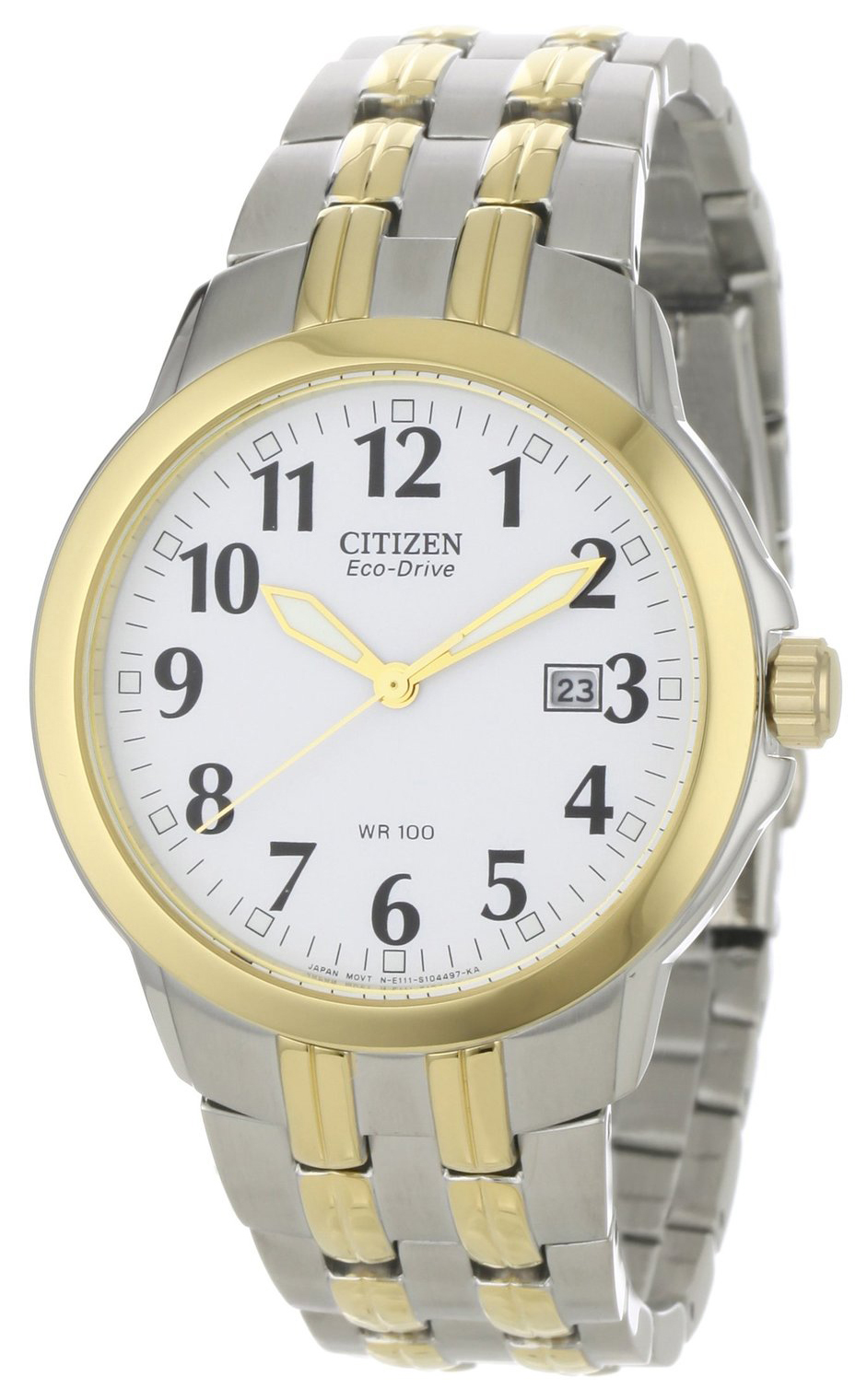 Citizen Herrklocka BM7094-50A Vit/Stål Ø40 mm - Citizen
